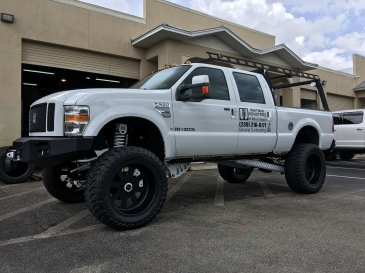 2008-2010 Ford F-250/F-350 12 inch suspension lift